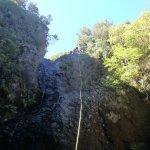 Sheer cliffs didn't stop the adrenaline rush.