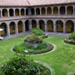 One of the cloisters.