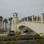 Hotel's Own Bridge to the Beach