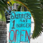 Bring cash and enjoy a Skinny's Burger