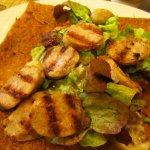 Crêpe à la saucisse bretonne