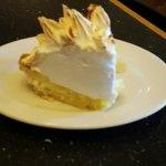Cocount Cream Pie, yum yum.  Friday buffet  was delicious.