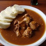 Pork goulash with dumpling