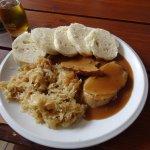 Pork loin, dumpling & sauerkraut