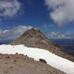 After 3.5 hours, the top of Lassen Peak ~ Woohoo!