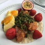 Porridge im Frühstück