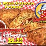 Landshark's MEGA Mini-Calzone Friday Special!