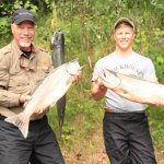 King Salmon caught on the Kenai River