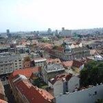 Вид с башни на Нижний город