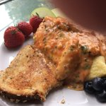 Salmon & Crab omelet specials - EXCELLENT!!