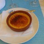 Une vraie crème catalane maison avec sa croute de caramel