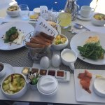 What a wonderful breakfast on the terrace!