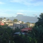 View of Moorea from the verandah