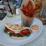 Tandoori street sandwich