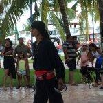 Pirate Show Cancun Jolly Roger Foto