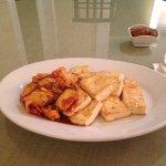 Best in town, kimchi tofu