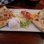 Quesadilla was fresh & tasty