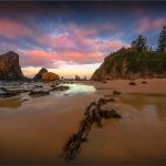 The Narooma Glasshouse rocks Beach