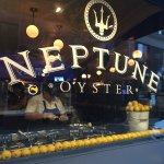 Outside neptune oyster restaurant