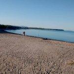 La plage a 7h00 du matin avant l'affluence...