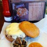 Venison burger