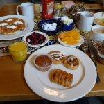 Self-served breakfast