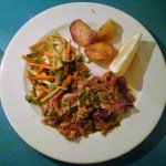 Georges-Greek-restaurant-slow-cooked-lamb-dish