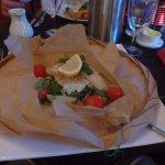 Fish in a paper bag