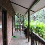 common veranda for room 10 and 11