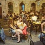 Grains Cagliari Pizzeria e Cocktails bar all'aperto. Salita Santa Chiara