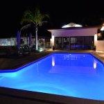 Luxurious below ground pool