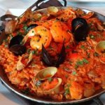 Special offer - red paella
