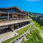 Sommeraufnahme BichlAlm Kitzbühel Hotel