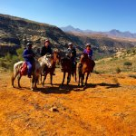 Pony trekking to San Bushmen paintings (over 40,000 years old!)