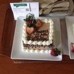 Stunning birthday cake!
