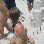 Beach Sand Sculptures Foto