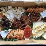 Hudson Valley Cheese Platter with House Made Crackers, Preserves, Olive & Nuts - Party Platters