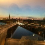 Great view on the old city of Stockholm