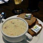 Très bonne soupe Seafood chowder