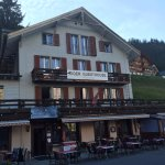 Summer evening at Eiger Guesthouse