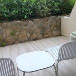 La terrasse attenante au calme