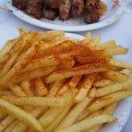 Nikos & Maria's GREAT souvlaki !!!