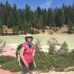 Lassen volcanic national park - Boiling lake