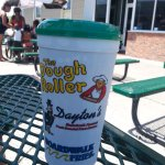 Souvenir cup can be refilled for $1.50