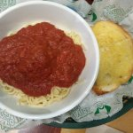 Kid's spaghetti w/meatballs