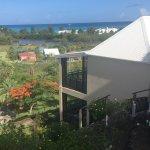 View overlooking beach