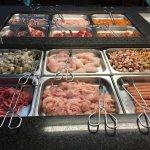 wok buffet meat
