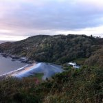 Our own secluded beach in Bishopston.. PwllDu