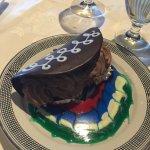 Chocoate Taco dessert at the El Tovar Dining Room