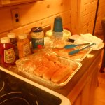 Cabin cookout fixins